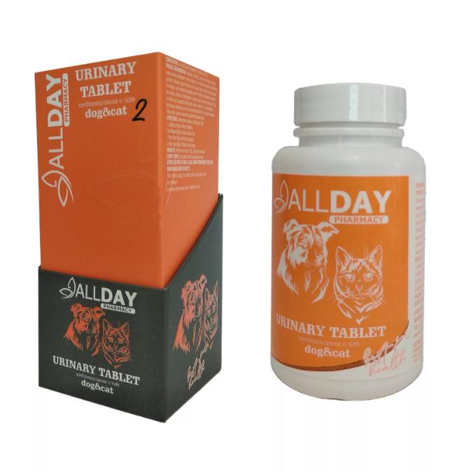 AllDay Urinary  Kedi  Köpek Tablet 75 Gr
