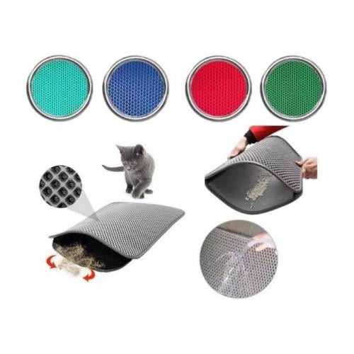 Elekli Kedi Tuvalet Önü Paspası 50 x 60 Cm