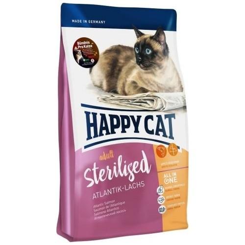 Happy Cat Adult Atlantic Lachs Somonlu Kısır Kedi Maması 4 KG