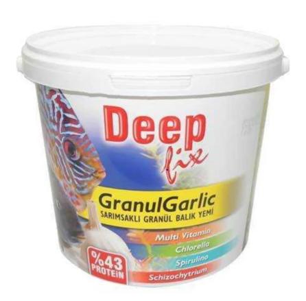 Deep Fix Granül Garlic (Sarımsaklı Granül Balık Yemi) 3000 Gr