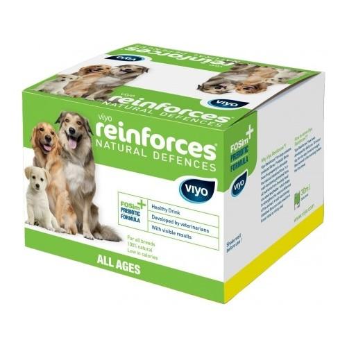 Viyo Reinforces Natural Defences Tüm Yaş Köpek Gıda Takviyesi 7 x 30 ml