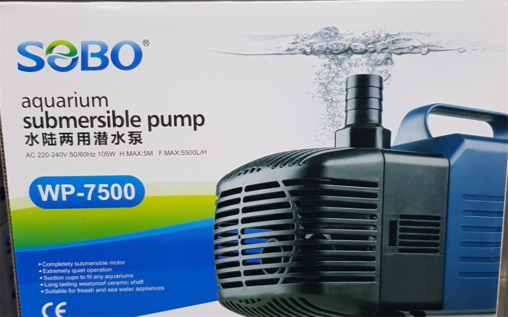 Sobo Samp Motoru WP-7500 105W 5500 LT/SAAT