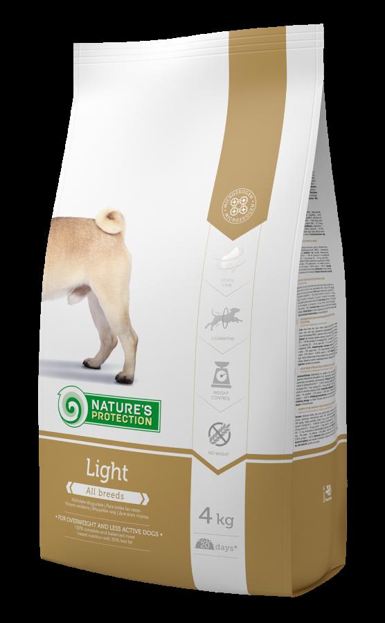 Natures Protection Light Kalorisi Düşürülmüş Köpek Maması 4 Kg