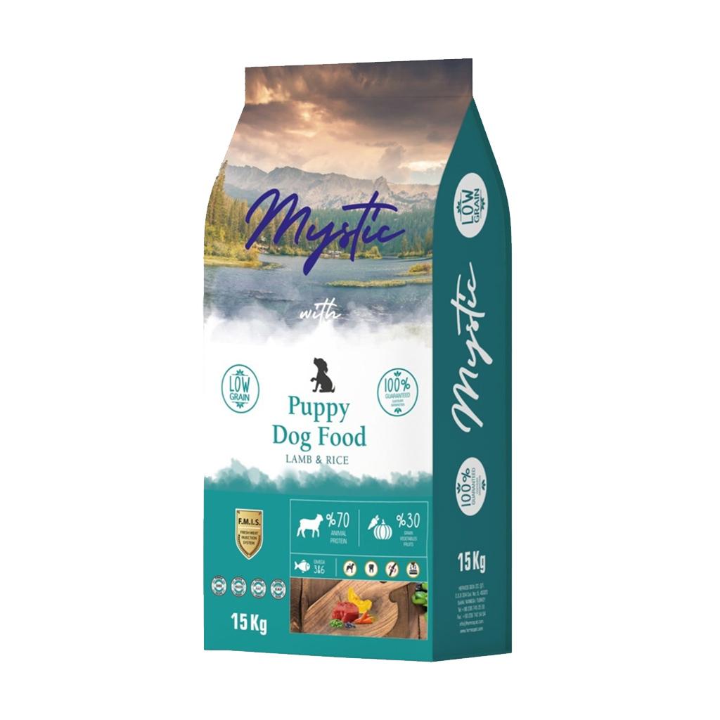 Mystic Az Tahıllı Yavru Köpek Maması 15 kg