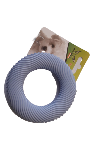 Multimagic Köpek Diş Kaşıma Oyuncağı Halka Mavi 10 cm