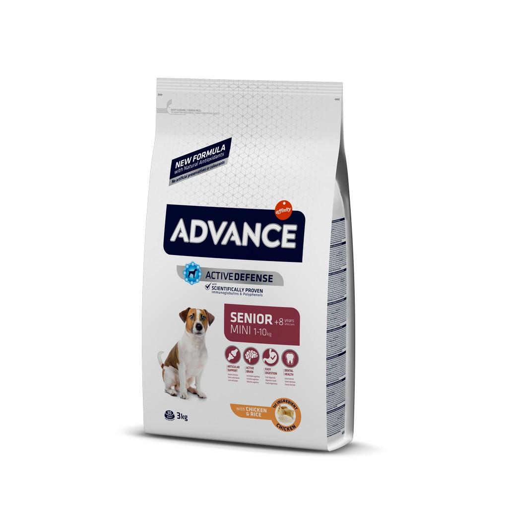 Advance Tavuklu Yaşlı Mini Irk Köpek Maması 3 Kg