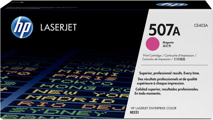 HP Color laserjet  507A M551N KIRMIZI TONER ...