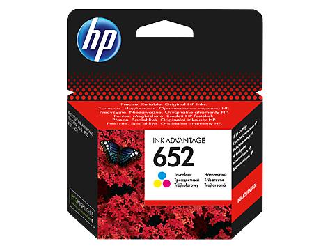 HP F6V24AE (652) UC RENKLI MUREKKEP ...
