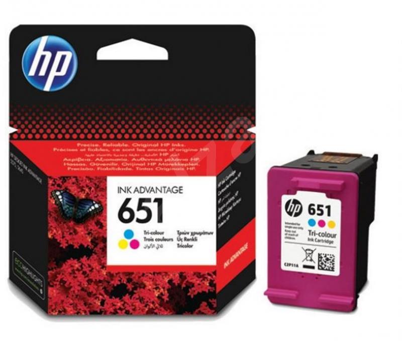 HP C2P11AE (651) UC RENKLI MUREKKEP KARTUŞ ...